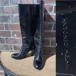 Antonio Melani Black TRIUMPH Heel Boot 8
